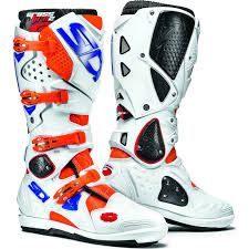 white motocross boots sidi crossfire 2 srs motocross boots dirt bike moto x quad cross