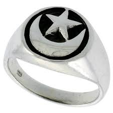 silver ring for men islam islamic jewelry for muslim men eid ul fit gifts ramadan presents