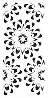 large wall stencils for decorating walls or floors
