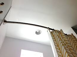 curved curtain rods and hardware arched curtain rod ideas