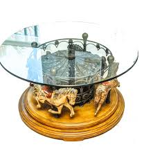 carousel horse coffee table ebth 4 daw thippo
