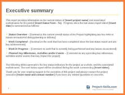summary report template report executive summary template fieldstation co