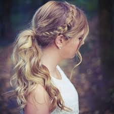 layer hair with ponytail at crown 15 trendy braided hairstyles dutch hair style and makeup