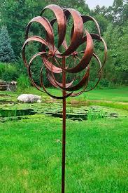 garden spinners metal wind spinners gardenfun