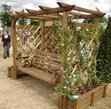 Swing Arbor Plans Top 25 Best Wooden Garden Swing Ideas On Pinterest Garden