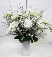 faux flower arrangements white silk flower arrangements foter