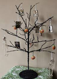 black halloween tree complete list of halloween decorations ideas in your home