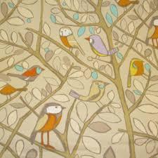 Orange Curtain Material Edinburgh Weavers Tweety Bird Curtain Fabric Linen Curtain