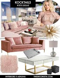 get the look kocktails with khloe u2014 the decorista style boards