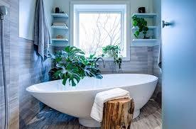 Hot Bathroom Trends Freestanding Bathtubs Bring Home The Spa Retreat - Organic bathroom design