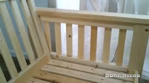 Rustic Wooden Couch Wooden Couch Frame Bench Youtube