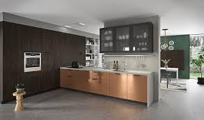 glass kitchen wall unit doors vita italian kitchen design archi living