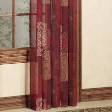 Sheer Maroon Curtains Curtain Silkeer Curtains Doherty House Luxury Stylish Faux