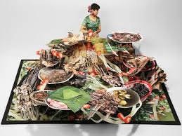 a mind blowing pop up book shows china s vanishing tribes wired