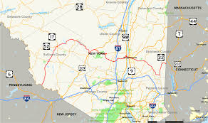 New York Map State by New York State Route 55 Wikipedia