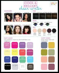 best hair color for deep winters 24 best colors for a clear winter complexion images on pinterest