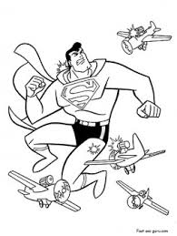 printable superman airplanes coloring printable coloring