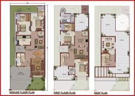 Twin House Plans 10 Marla House Plans Civil Engineers Pk