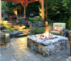 Rustic Firepit Appealing Rustic Backyard Pit Ideas Homedesignlatestsite Pics