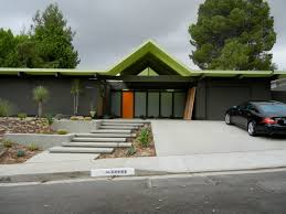 exterior nice joseph eichler homes with concrete patio flooring
