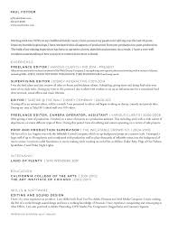 Resume Photo Editor Resume U2014 Paul Foyder Editor