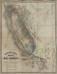 Map Of San Francisco Ca by Goddard George H Britton U0026 Rey U0027s Map Of The State Of California