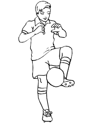 dessins foot az coloriage