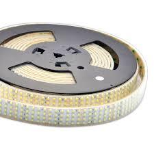 led daylight strip light quad row waterproof ip67 led tape lights 1 170lm ft dc24v cri