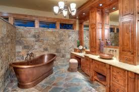 rustic bathroom design refined rustic bathroom designs for your rustic home