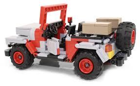 jurassic park jeep instructions ideas ucs jurassic park jeep wrangler