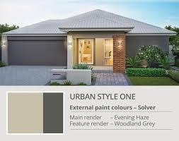 external colours aveling homes