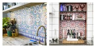 cuisine style marocain idee deco mur cuisine 7 carrelage marocain un en forme de
