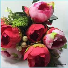 Cheap Bulk Flowers Silk Flowers Silk Flowers Suppliers And Manufacturers At Alibaba Com
