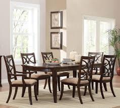 homelegance keegan 7 piece dining room set in brown cherry homelegance keegan 7 piece dining room set in brown cherry