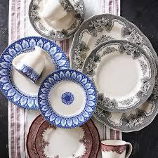 heirloom dinnerware collection dahlia williams sonoma