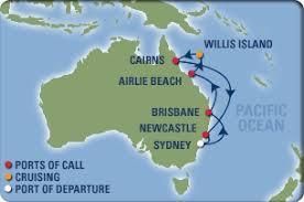 cruises to sydney australia queensland cruise begins in sydney australia to brisbane