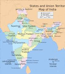 Map India India States And Union Territories Map India Pinterest Union