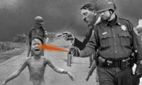 Pepper Spray Cop Meme - officer down infamous pepper spraying pig begs for worker s comp