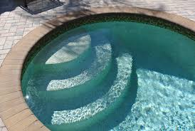 wedding cake pool steps wedding cake steps bullnose brick coping elite weiler pools