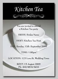 kitchen tea invites ideas cup kitchen tea invitation
