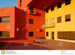 Orange Walls Yellow And Orange Walls Royalty Free Stock Photos Image 12539308