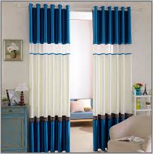 White Curtains With Blue Trim Great White Curtains With Blue Trim Decorating With Curtains White