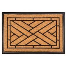 Amagabeli Wipe Your Paws Doormat Recycled Rubber Outdoor Tiles