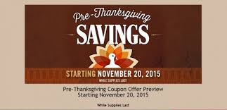costco pre thanksgiving savings 11 20 15 to 11 30 15