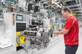 bentley factory porsche u0027s new v8 engine to power bentley and audi models too