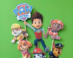 paw patrol cupcake toppers paw patrol party paw patrol cake