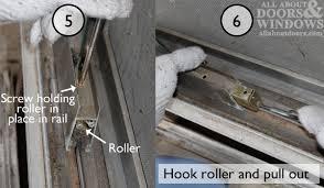 replace glass sliding door stunning patio door rollers repair how to repair a sliding door