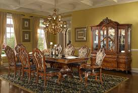 formal dining room table homey design hd 8072 108