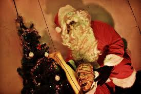 killer santa commercial banned from broadcast watch now horror