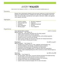 Samples Of Resumes For Administrative Assistant Positions by Best Store Administrative Assistant Resume Example Livecareer